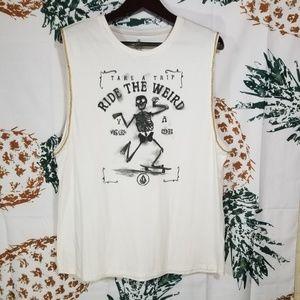 Volcom muscle shirt sz XL New